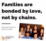 Families are bonded by love